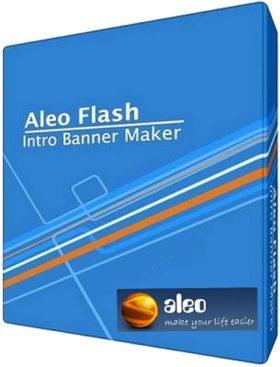 برنامج عمل البانرات الإعلانية المتحركة بالفلاش | Aleo Flash Intro Banner Maker 4.1