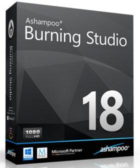 برنامج أشامبو لنسخ الاسطوانات 2017 | Ashampoo Burning Studio 18.0.0.55