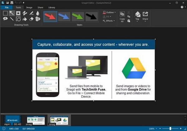 برنامج تصوير الشاشة وعمل الشروحات | TechSmith Snagit 13.0.3 Build 7015