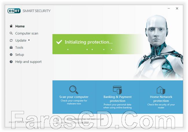 الإصدارات الجديدة لـ برامج إيست للحماية | ESET 10.0.386.0