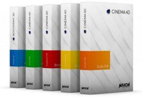 إصدار جديد من برنامج سينما فور دى | Maxon CINEMA 4D Studio R18.039