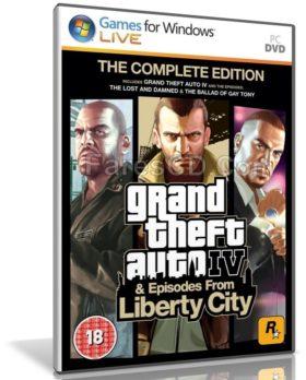 تحميل أشهر أجزاء لعبة جتا | GTA IV Complete Edition