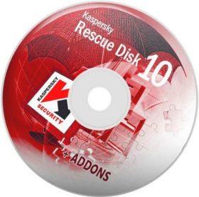 إصدار جديد من اسطوانة كاسبر للطوارىء | Kaspersky Rescue Disk 10 DC 03.02.2017