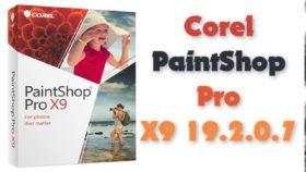 إصدار جديد من برنامج تعديل الصور | Corel PaintShop Pro X9 19.2.0.7