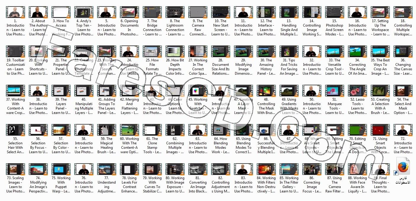كورس فوتوشوب 2017 من إنفينتى سكيلز | O'reilly - Learn to Use Photoshop CC 2017