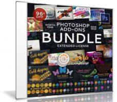 أفضل إضافات الفوتوشوب 2017 | CreativeMarket – Photoshop Add-Ons Bundle