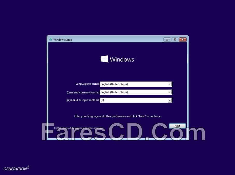 ويندوز 10 وأوفيس 2016 بتحديثات يوليو 2017 | Windows 10 Pro X64 RS2 incl Office16