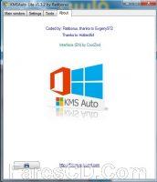 أداة تفعيل الويندوز والأوفيس | KMSAuto Lite 1.3.2 Portable