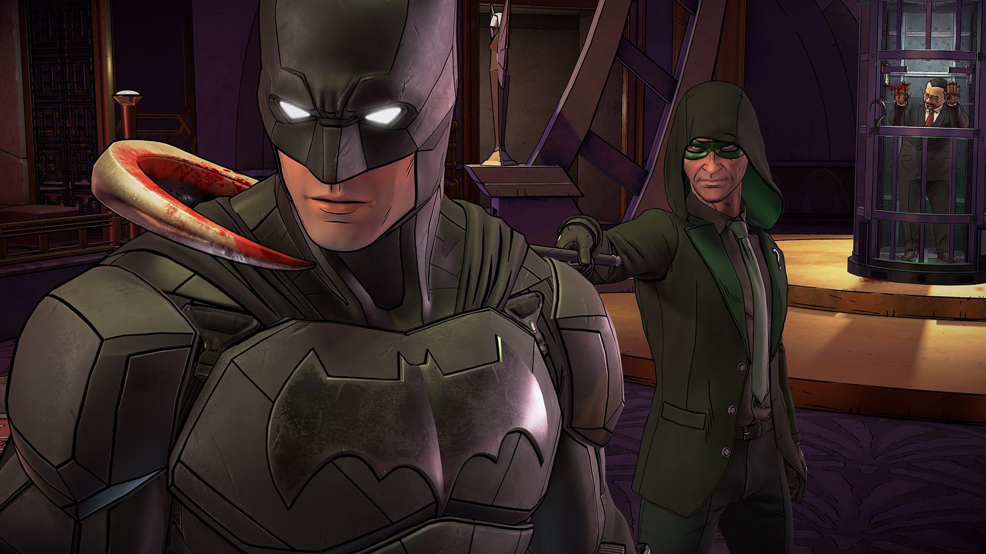 لعبة باتمان الجديدة   Batman The Enemy Within Episode 1