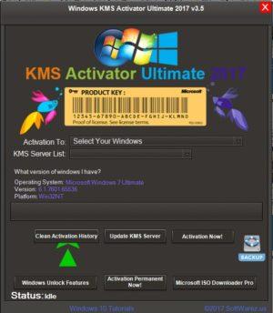 إصدار جديد من أداة تفعيل الويندوز والأوفيس | Windows KMS Activator Ultimate 2017 3.5