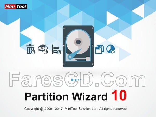 اسطوانة تقسيم وصيانة الهارديسك | MiniTool Partition Wizard 10.2.3