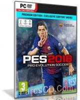 لعبة بيس 2018 | Pro Evolution Soccer 2018 | نسخة ريباك