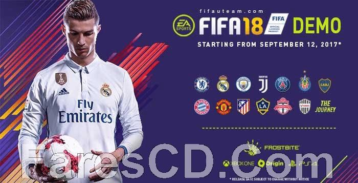 النسخة الديمو من لعبة فيفا 2018 | FIFA 18 PC DEMO