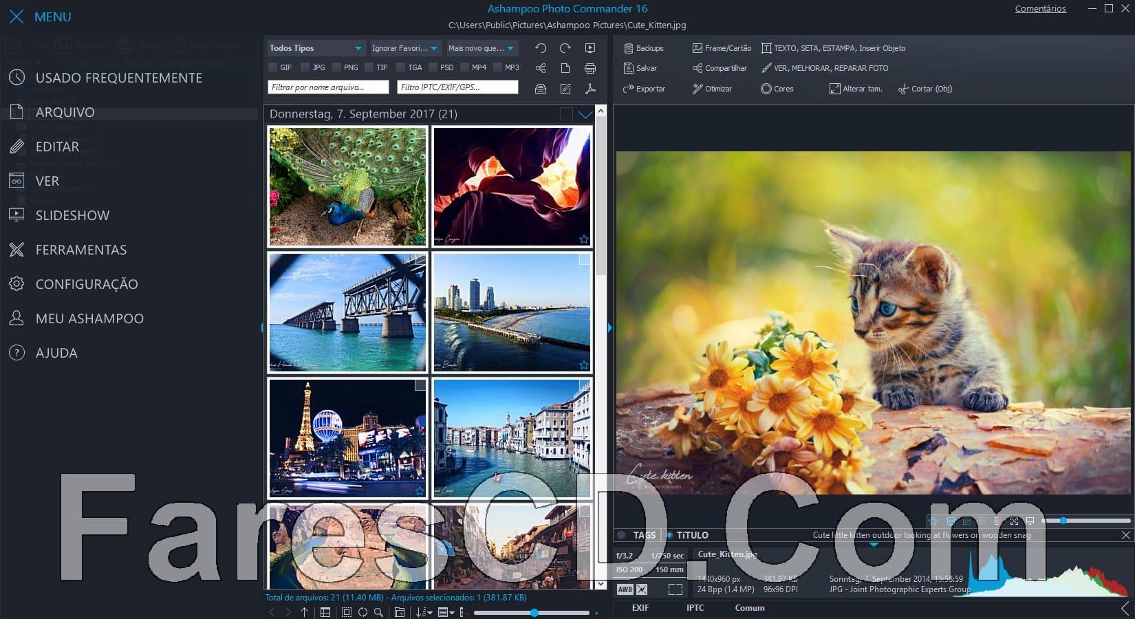 برنامج أشامبو لتعديل الصور | Ashampoo Photo Commander 16.0.1