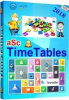 برنامج إنشاء وإدارة الجداول المدرسية   aSc Timetables 2018 3.4