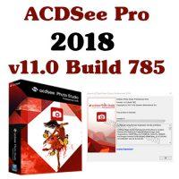 برنامج تصميم وتعديل الصور |  ACDSee Pro 2018 v11.0 Build 785