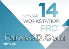 برنامج عمل الأنظمة الوهمية   VMware Workstation Pro 14.0.0 Build 6661328