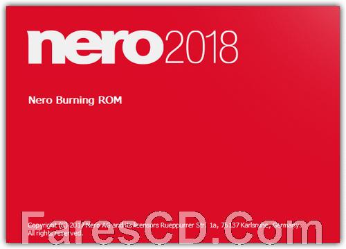 برنامج نيرو 2018 لنسخ الاسطوانات | Nero Burning ROM 2018 19.0.00400