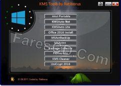 تجميعة تفعيلات الويندوز والأوفيس | Ratiborus KMS Tools 01.09.2017