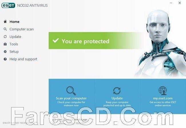 إصدار جديد من برنامج الحماية الشهير | ESET NOD32 Antivirus 11.0.159.9