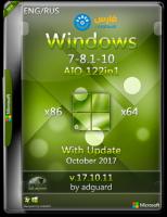 اسطوانة كل إصدارات الويندوز | Windows 7-8.1-10 AIO | بتحديثات أكتوبر 2017