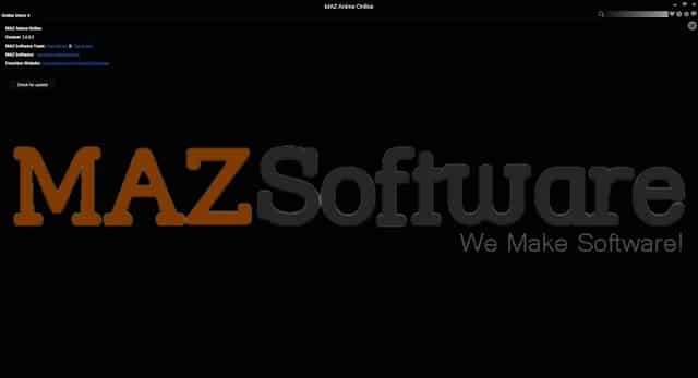 برنامج تحميل ومشاهدة الإنيمى | MAZ Anime Online V3.0.0