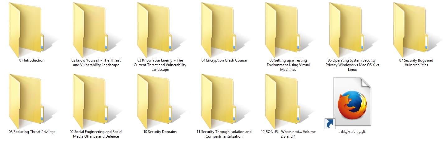 كورس الحماية الشاملة | Hackers Exposed | المستوى الثالث