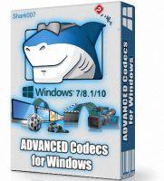 أحدث حزمة كودك لكل الويندوزات | ADVANCED Codecs for Windows 7/8.1/10 v11.0.8