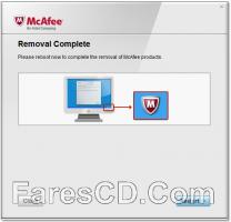 أداة حذف برنامج مكافى | McAfee Consumer Product Removal Tool 10.2.199.0
