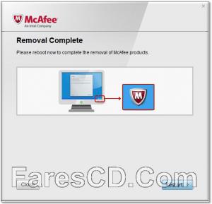 أداة حذف برنامج مكافى | McAfee Consumer Product Removal Tool 10.3.127.0