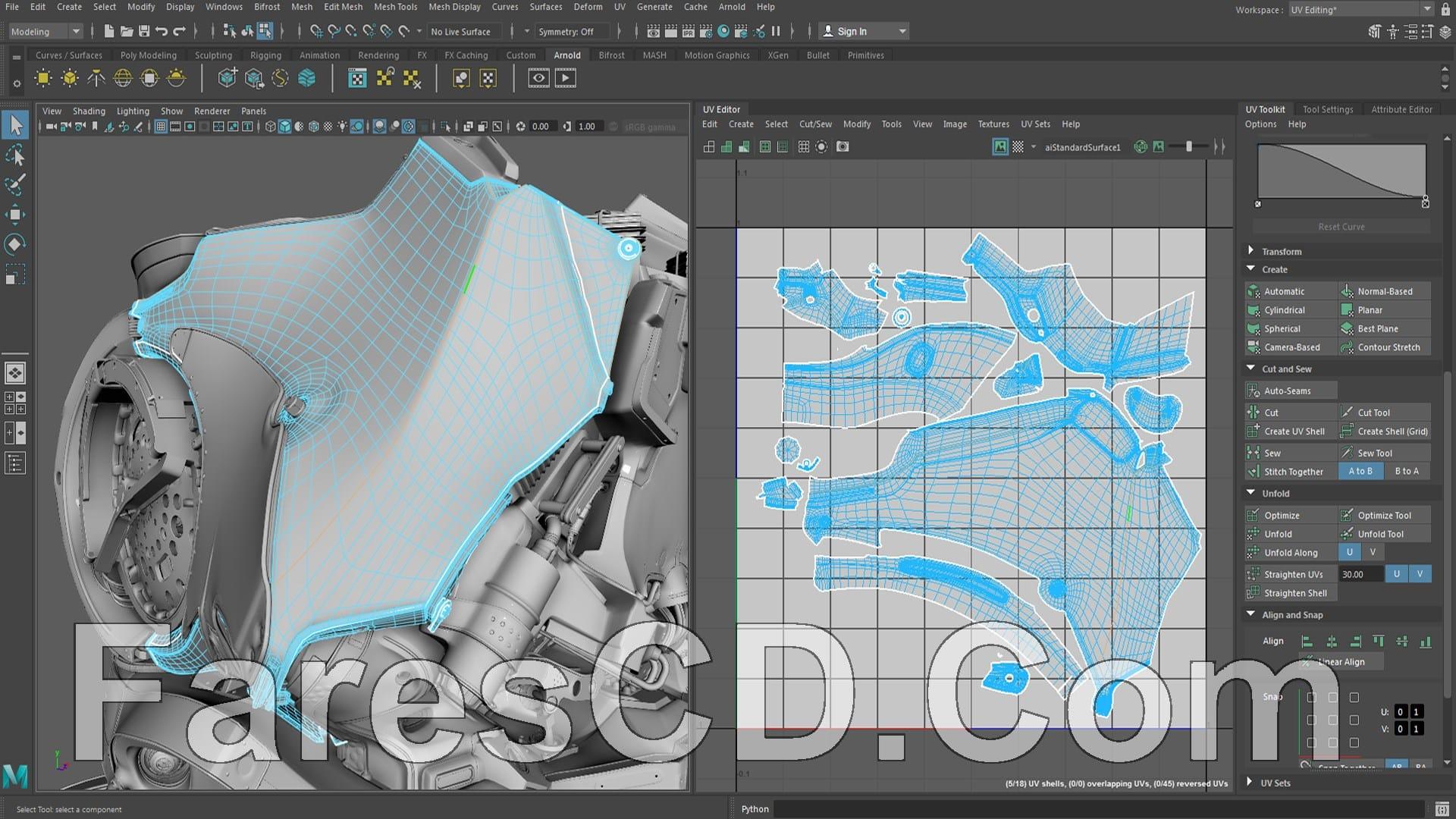برنامج أوتوديسك مايا 2018 | Autodesk Maya 2018.2