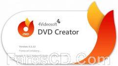 برنامج إنشاء اسطوانات الدى فى دى | 4Videosoft DVD Creator 6.2.6