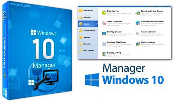 برنامج صيانة وإصلاح ويندوز 10 | Yamicsoft Windows 10 Manager 2.2.1