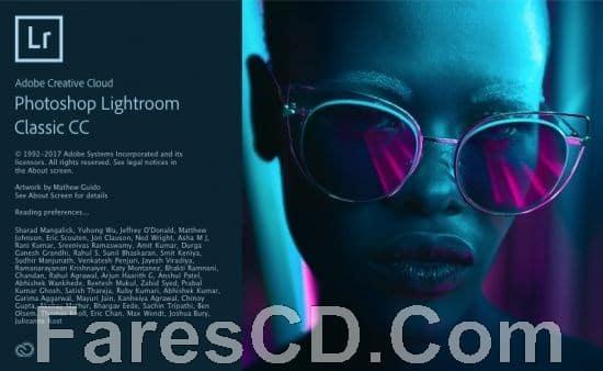 برنامج فوتوشوب لايت روم كلاسيك 2018   Adobe Photoshop Lightroom Classic CC 2018 7.2.0.10
