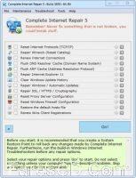 أداة إصلاح مشاكل الإتصال بالإنترنت | Complete Internet Repair 5.0.1 Build 3850