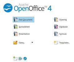 أقوى منافس لبرامج الاوفيس   Apache OpenOffice 4.1.5