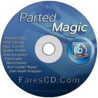 إصدار جديد من اسطوانة الصيانة وتقسيم الهارد | Parted Magic 2018.01.08
