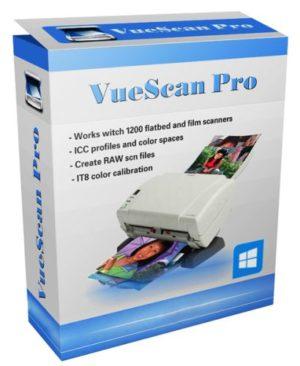 برنامج إدارة الإسكانر | VueScan Pro 9.7.56