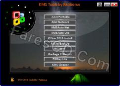 تجميعة تفعيلات الويندوز والأوفيس | Ratiborus KMS Tools 07.01.2018
