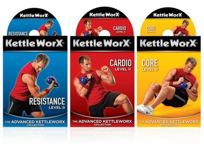 كورس تدريبات اللياقة البدنية   The Advanced KettleWorX Collection with Ryan Shanahan