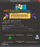 إصدار جديد من أداة تفعيل الويندوز والأوفيس | Windows KMS Activator Ultimate 2018 4.0