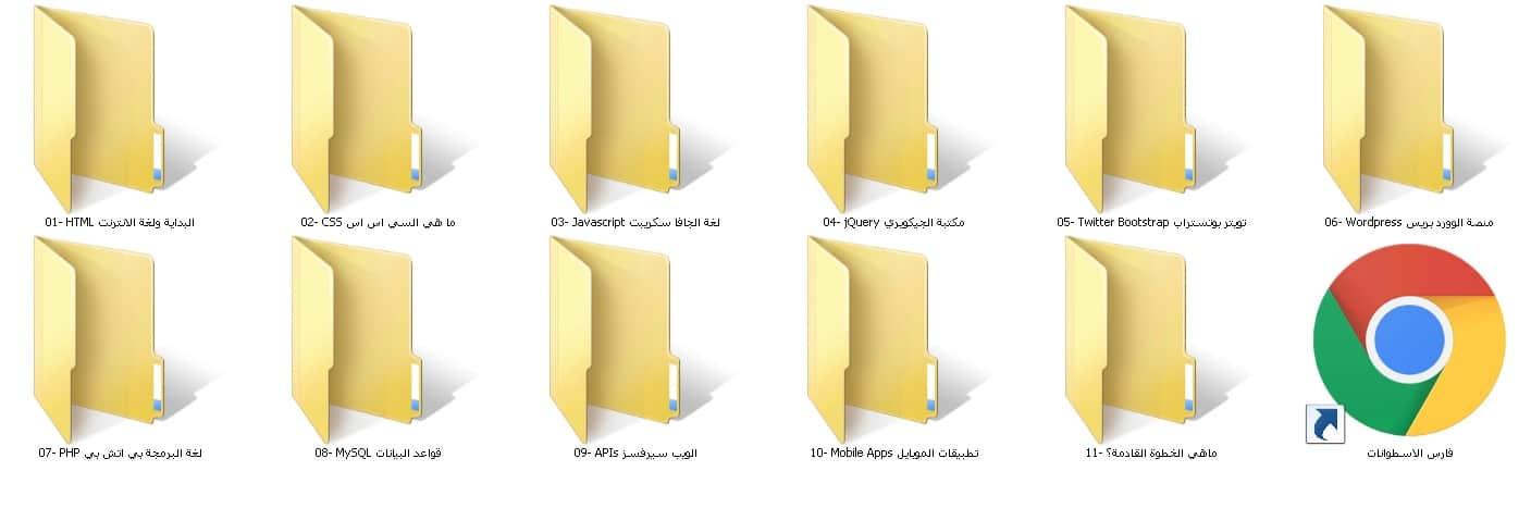 الكورس الشامل لتطوير الويب | فيديو بالعربى من يوديمى مع المرفقات