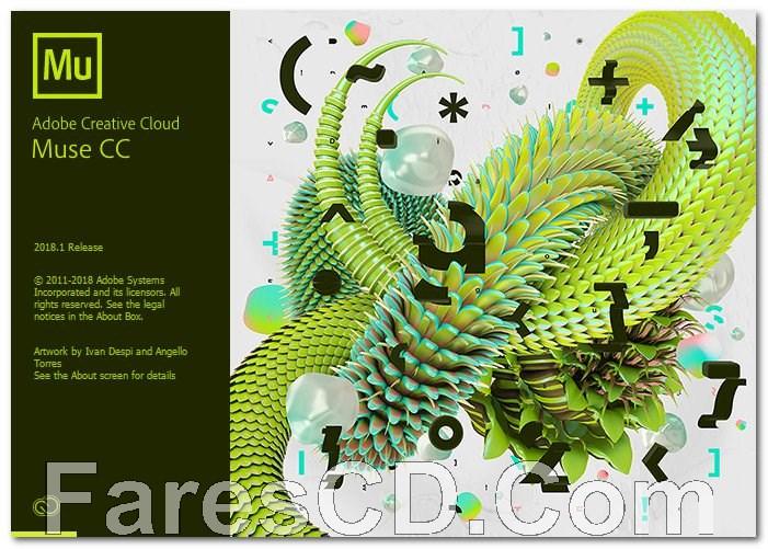 برنامج أدوبى ماوس 2018   Adobe Muse CC v2018.1.0.266
