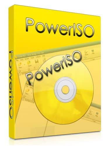 برنامج الاسطوانات الوهمية بور أيزو   PowerISO 7.1 Multilingual