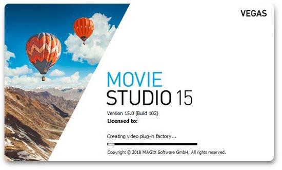 برنامج موفى ستوديو 2018 | MAGIX VEGAS Movie Studio Platinum 15.0.0.102