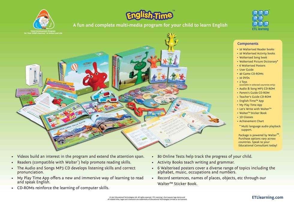 كورس تعليم اللغة الإنجليزية للأطفال | English Time
