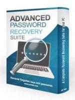 برنامج استعادة كلمات السر المنسية والمفقودة | Advanced Password Recovery Suite 1.0.1