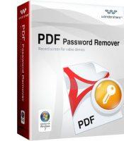 برنامج معرفة كلمة السر لملفات بى دى إف   Wonderfulshare PDF Password Recover Pro 3.3.1