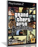 لعبة جتا سان أندرياس لأجهزة البلايستيشن 2   Grand Theft Auto San Andreas Ps2