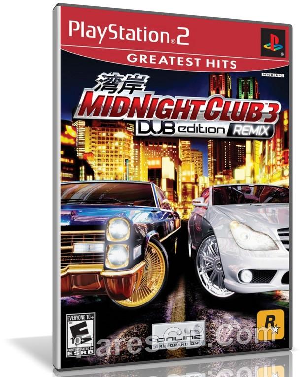 لعبة سباق السيارات | Midnight Club 3 DUB Edition Remix Ps2 | لأجهزة بلايستيشن 2